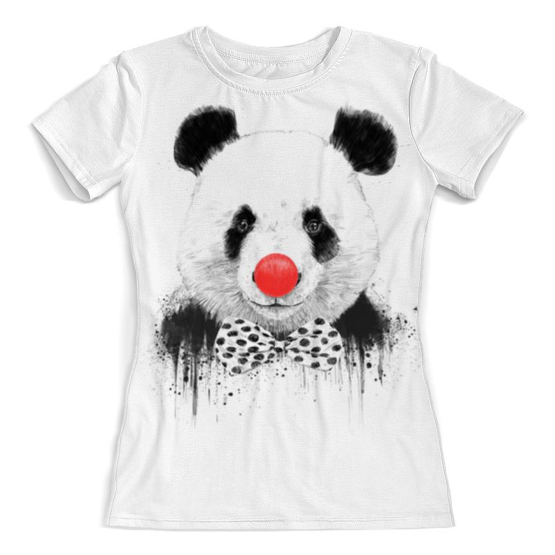 Футболка с полной запечаткой (женская) Printio Circus panda 3d все цены