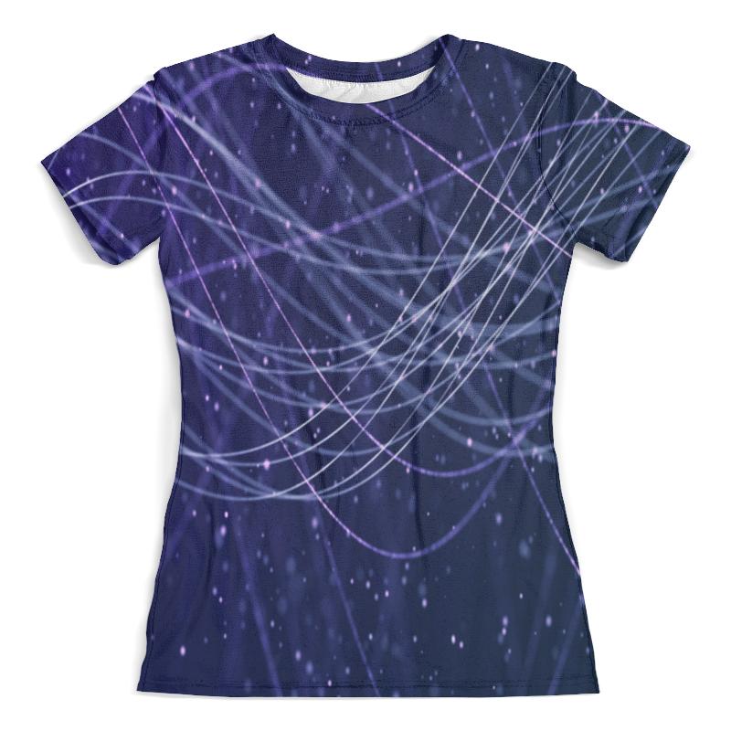 Футболка с полной запечаткой (женская) Printio Узор линии футболка с полной запечаткой женская printio line линии