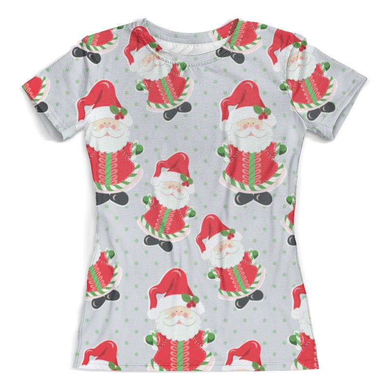 Футболка с полной запечаткой (женская) Printio Дед мороз футболка с полной запечаткой женская printio крутой дед мороз