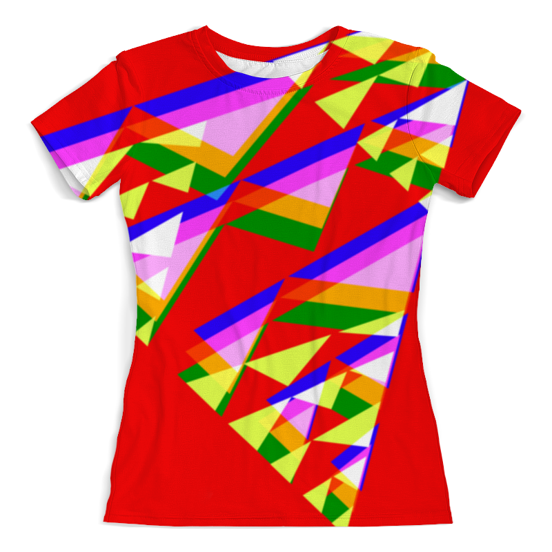 лучшая цена Printio Colorfull triangle