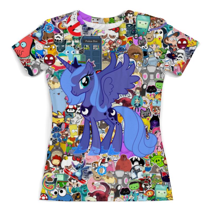 Футболка с полной запечаткой (женская) Printio My little pony футболка с полной запечаткой для мальчиков printio my little pony