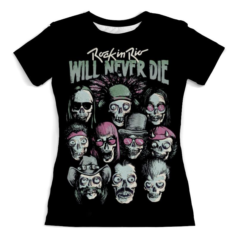 Printio Rock in rio - фестиваль рок музыки футболка с полной запечаткой для мальчиков printio rock in rio фестиваль рок музыки