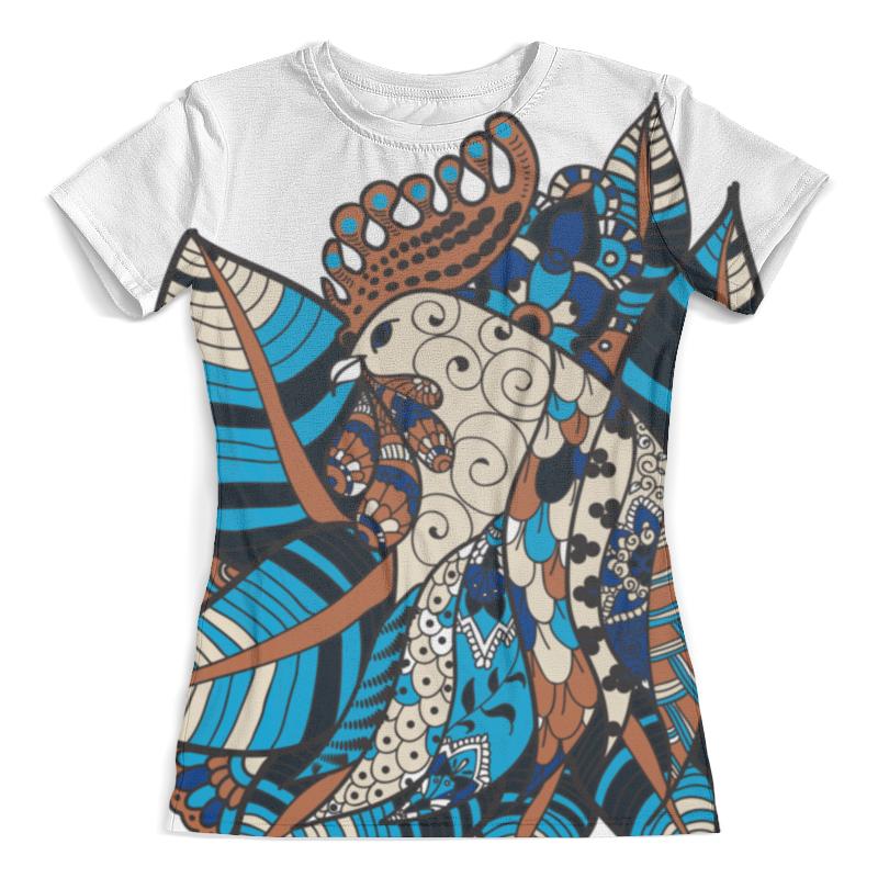 Футболка с полной запечаткой (женская) Printio Петушиное разноцветие футболка print bar петушиное разноцветие