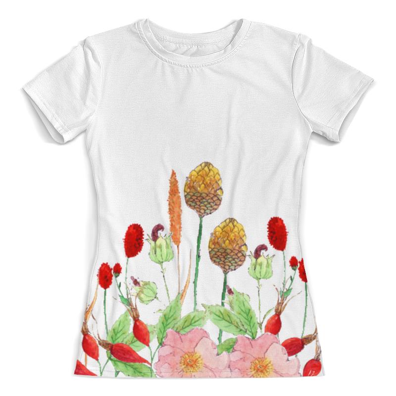 Футболка с полной запечаткой (женская) Printio Осенний букет футболка с полной запечаткой женская printio осенний букет