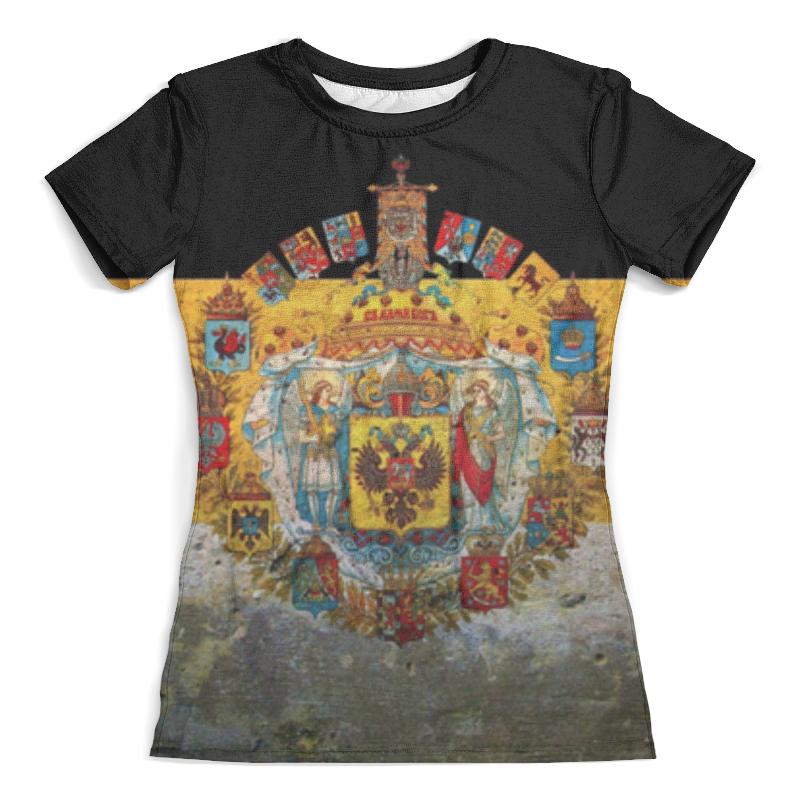 Футболка с полной запечаткой (женская) Printio Российская империя
