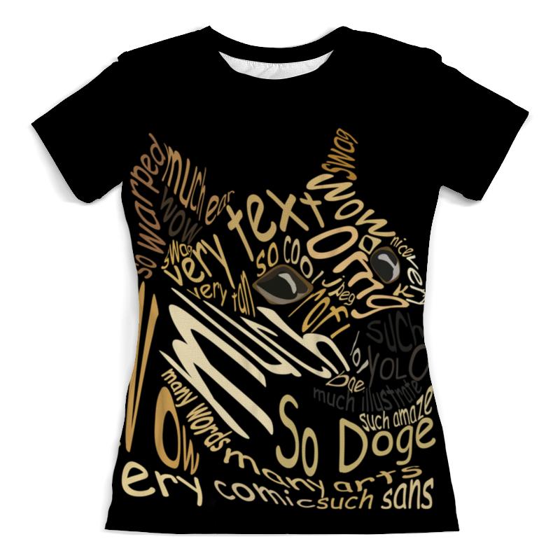 Футболка с полной запечаткой (женская) Printio Doge футболка с полной запечаткой мужская printio doge
