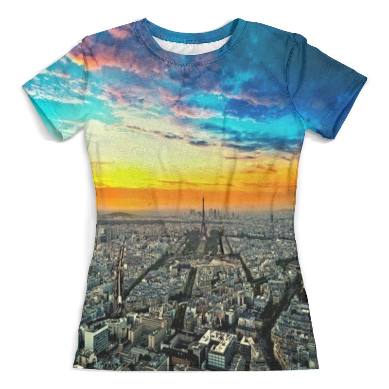 Футболка с полной запечаткой (женская) Printio New york футболка с полной запечаткой для мальчиков printio new york