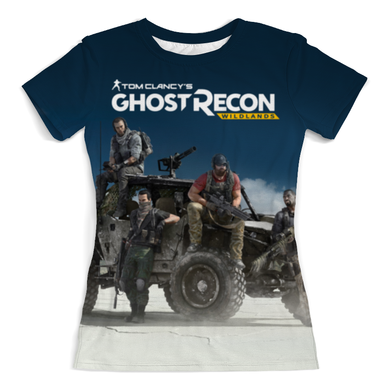 Футболка с полной запечаткой (женская) Printio Tom clancys ghost recon wildlands tom clancy s ghost recon wildlands gold edition ps4