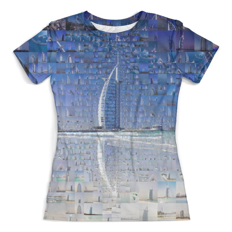 Футболка с полной запечаткой (женская) Printio Дубай футболка с полной запечаткой женская printio дубай город