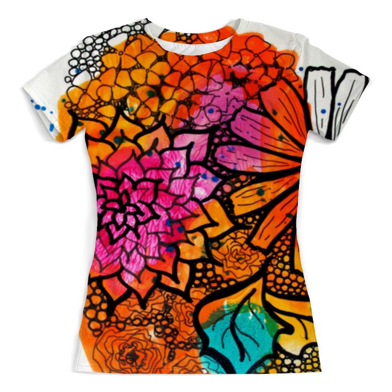 Футболка с полной запечаткой Printio Оранжевое настроение футболка классическая printio оранжевое солнце
