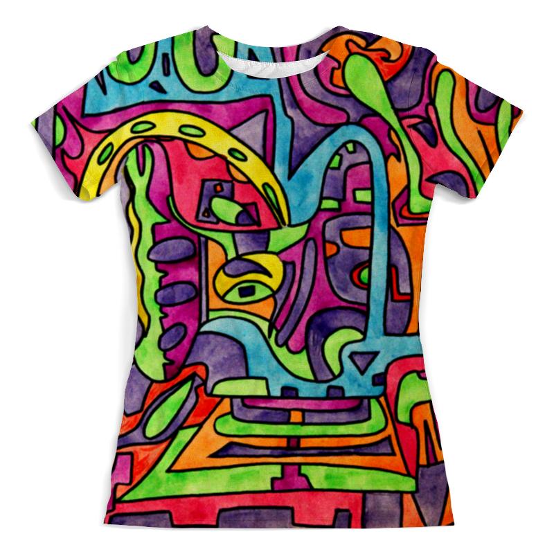 Футболка с полной запечаткой (женская) Printio Fp`pf-o[]80 футболка с полной запечаткой для девочек printio fp pf o[]80