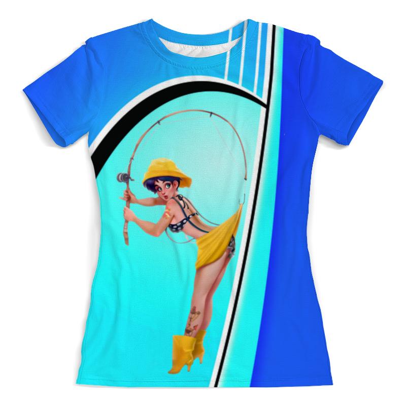 Printio Моя рыбалка футболка с полной запечаткой женская printio любовь моя религия