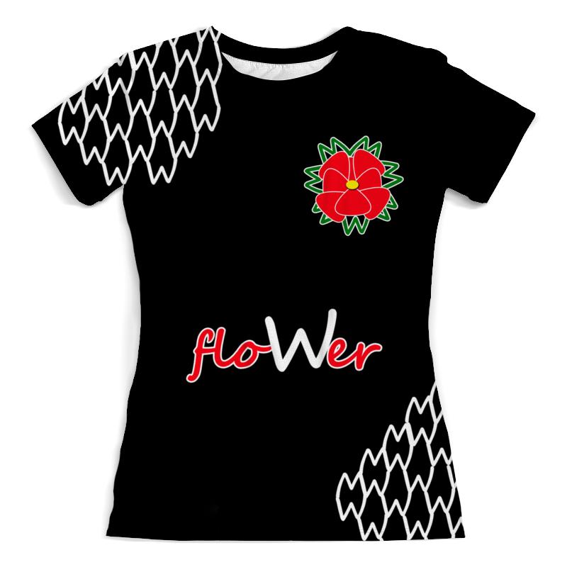 Printio Flower футболка с полной запечаткой женская printio spring flower