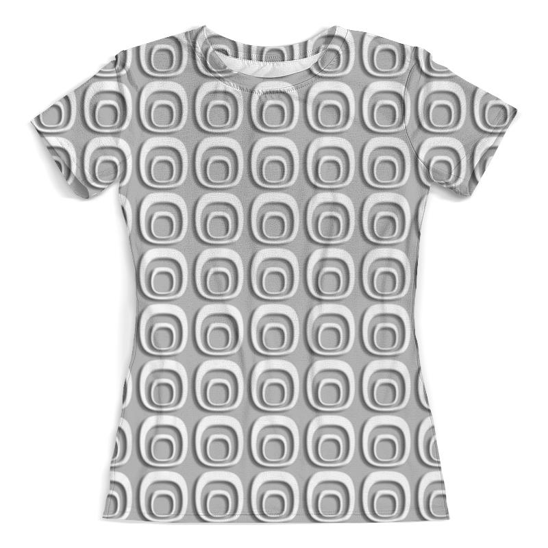 Футболка с полной запечаткой (женская) Printio Abstraction 3d женская футболка other 2015 3d loose batwing harajuku tshirt t a50