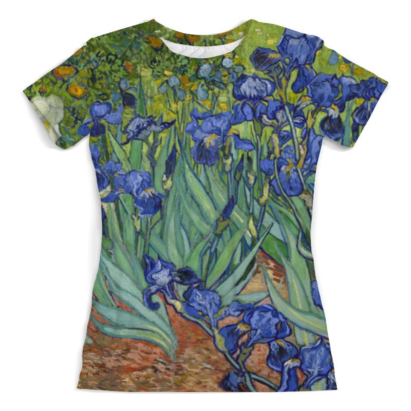 Printio Ирисы (винсент ван гог) футболка с полной запечаткой женская printio цветущий сад с тропинкой винсент ван гог