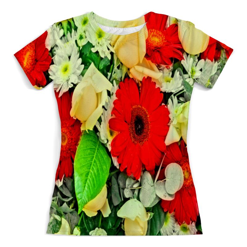 Футболка с полной запечаткой (женская) Printio Букет цветов футболка с полной запечаткой женская printio осенний букет