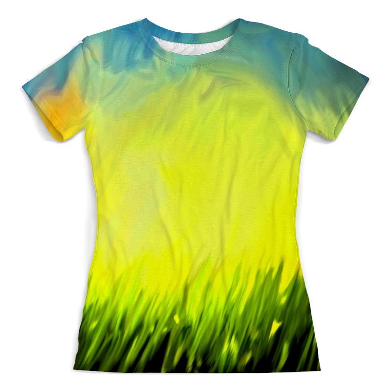 Футболка с полной запечаткой (женская) Printio Краски лета футболка с полной запечаткой женская printio цветение лета