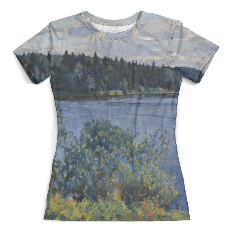 Футболка с полной запечаткой (женская) Printio Озеро (сергей виноградов) футболка с полной запечаткой женская printio подземное озеро