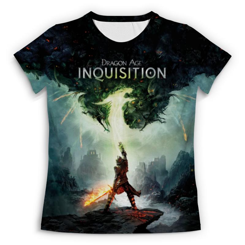 Футболка с полной запечаткой (женская) Printio Dragon age inquisition