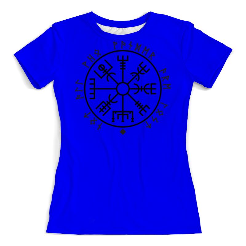 Футболка с полной запечаткой (женская) Printio Руна викингов футболка с полной запечаткой мужская printio руна викингов