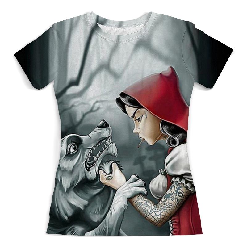 лучшая цена Printio Красная шапочка и серый волк (5)