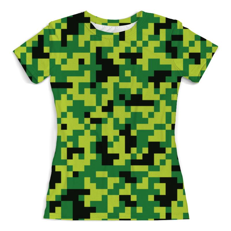 Printio Летний камуфляж футболка с полной запечаткой мужская printio летний речной бриз