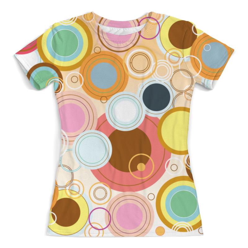 Футболка с полной запечаткой (женская) Printio Абстрактная футболка с полной запечаткой мужская printio абстрактная живопись