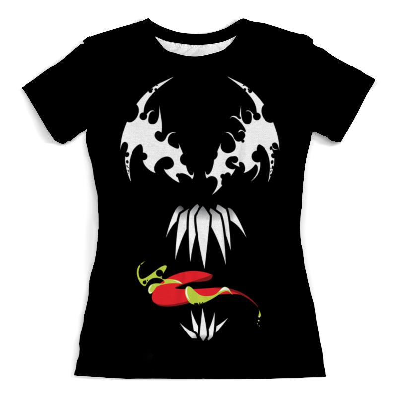 Футболка с полной запечаткой (женская) Printio Веном (venom) футболка с полной запечаткой мужская printio веном venom зеленый фанарь