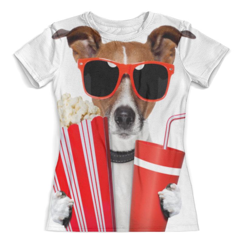 Футболка с полной запечаткой (женская) Printio Песик футболка с полной запечаткой для мальчиков printio песик