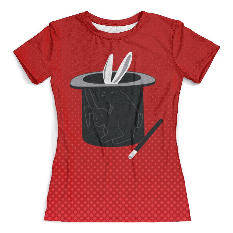 Футболка с полной запечаткой (женская) Printio Фокус с кроликом футболка с полной запечаткой женская printio battlefield v