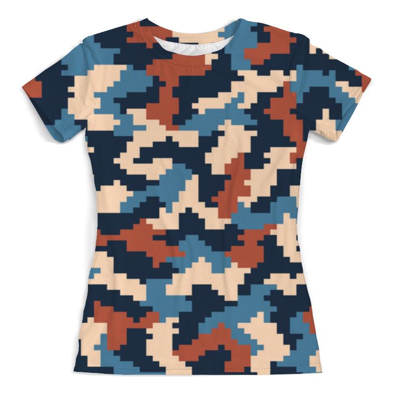 Фото - Футболка с полной запечаткой (женская) Printio Пиксели футболка с полной запечаткой женская printio пиксели