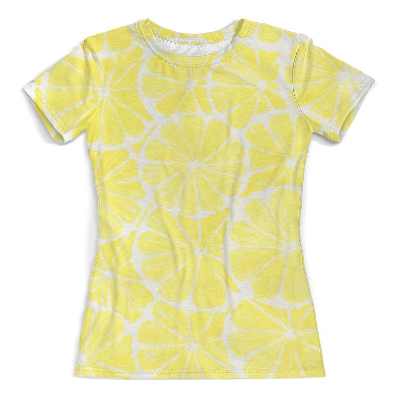 Printio Желтый лимон футболка с полной запечаткой женская printio тоня против всех