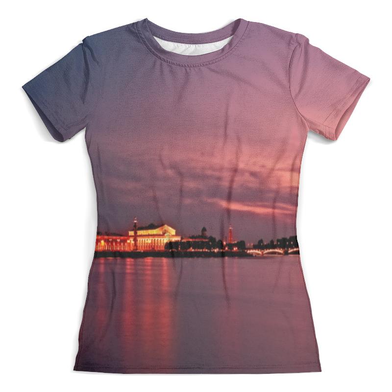 Футболка с полной запечаткой (женская) Printio Санкт-петербург футболка с полной запечаткой мужская printio санкт петербург
