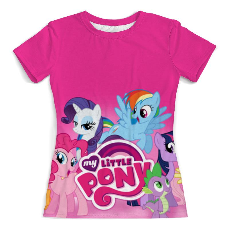 Футболка с полной запечаткой (женская) Printio My little pony футболка с полной запечаткой женская printio my little pony derpy