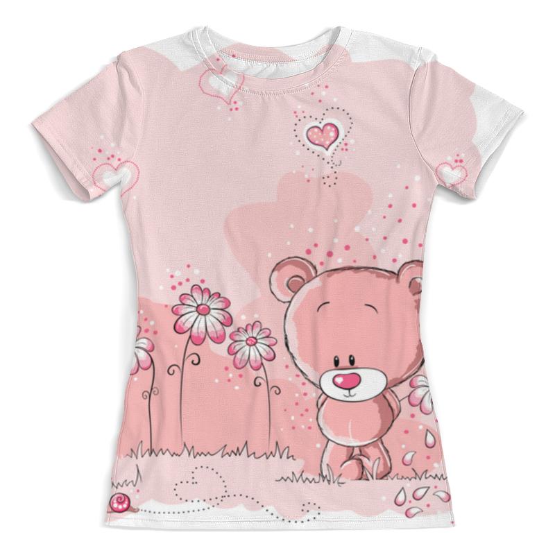 Printio Лапочка мишка футболка с полной запечаткой женская printio мишка и бабочки
