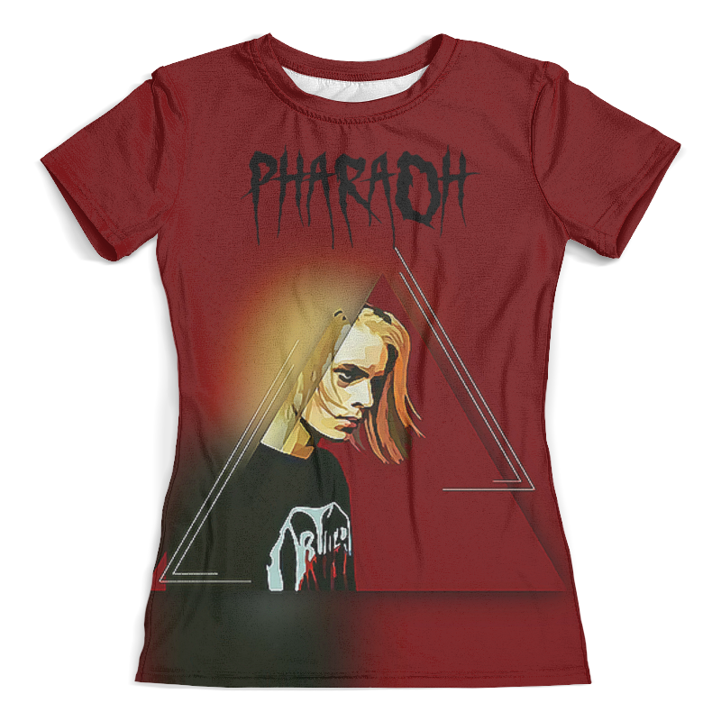 Футболка с полной запечаткой (женская) Printio Pharaoh(фараон) футболка dead dynasty