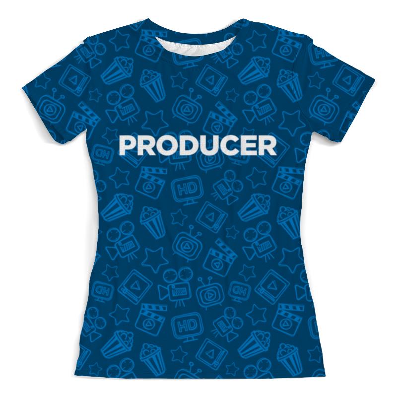 Футболка с полной запечаткой (женская) Printio Producer (продюсер) mackie onyx producer