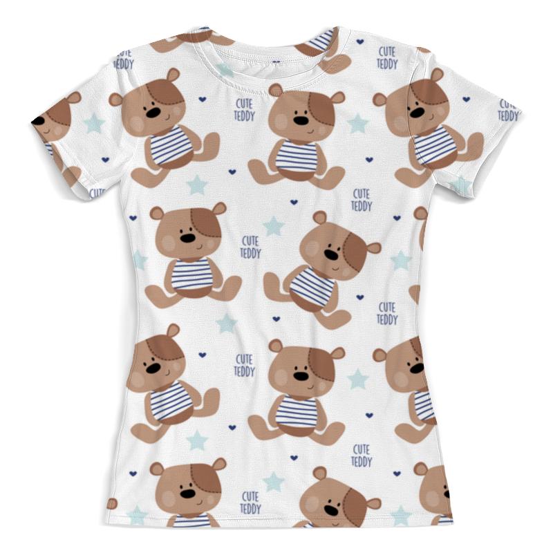 Футболка с полной запечаткой (женская) Printio Cute teddy футболка wearcraft premium printio world of warcraft азерот
