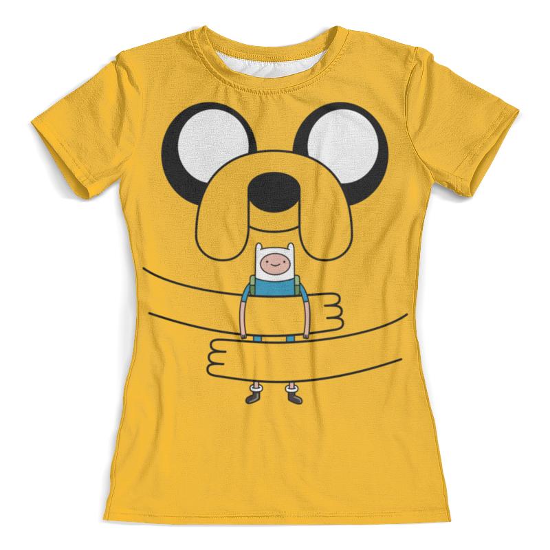 Футболка с полной запечаткой (женская) Printio джейк пёс. время приключений футболка с полной запечаткой мужская printio джейк пёс время приключений