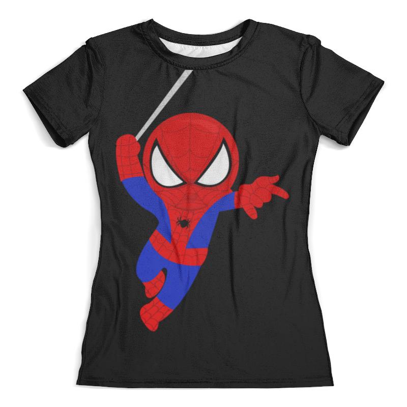 Футболка с полной запечаткой (женская) Printio Человек паук академия групп пенал человек паук