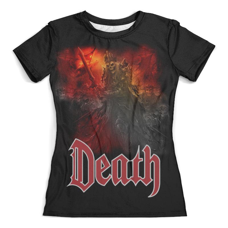 Футболка с полной запечаткой (женская) Printio Death art футболка с полной запечаткой женская printio anget art