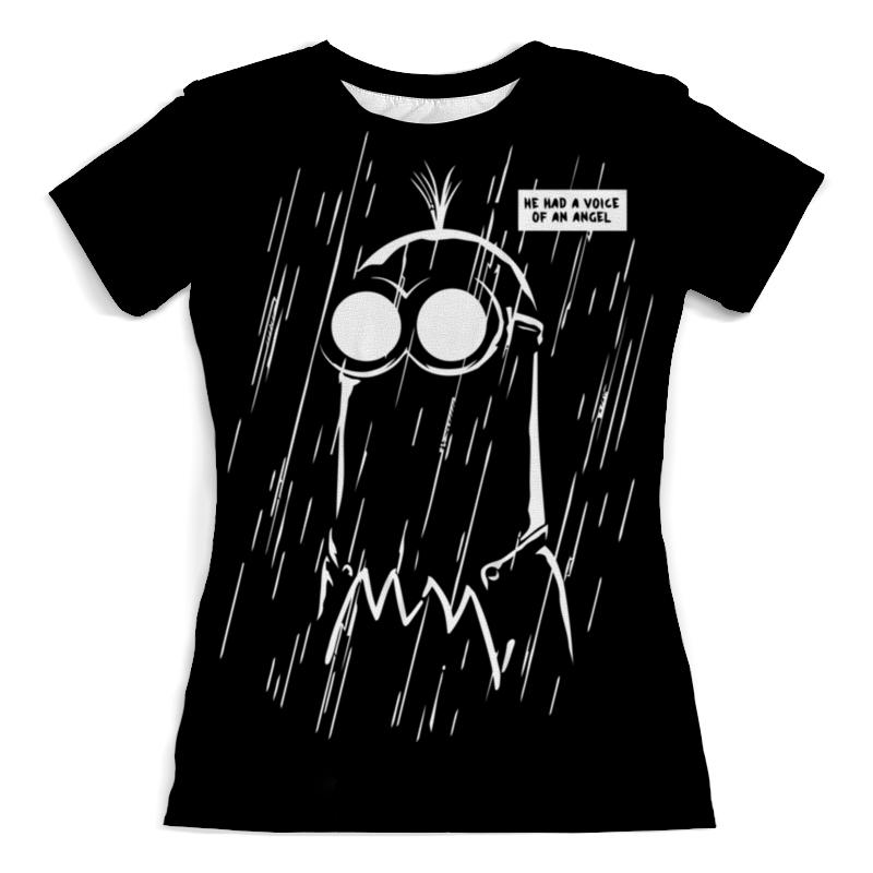Printio Миньон футболка с полной запечаткой женская printio миньон