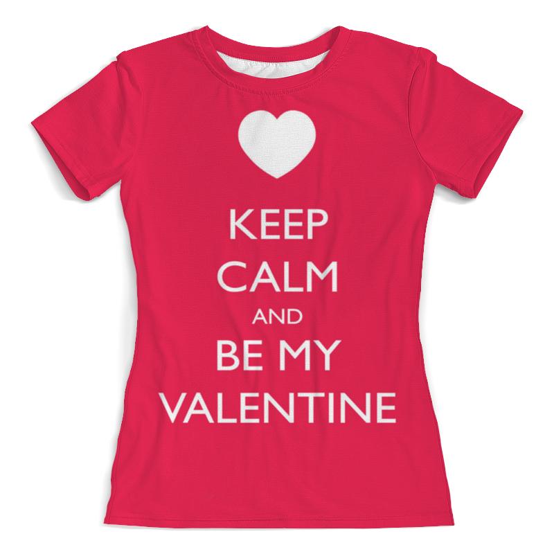 Фото - Футболка с полной запечаткой (женская) Printio Keep calm футболка с полной запечаткой женская printio keep calm