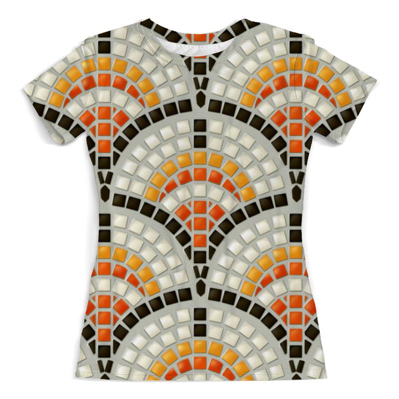 Футболка с полной запечаткой (женская) Printio Античная мозаика сумка printio античная красота