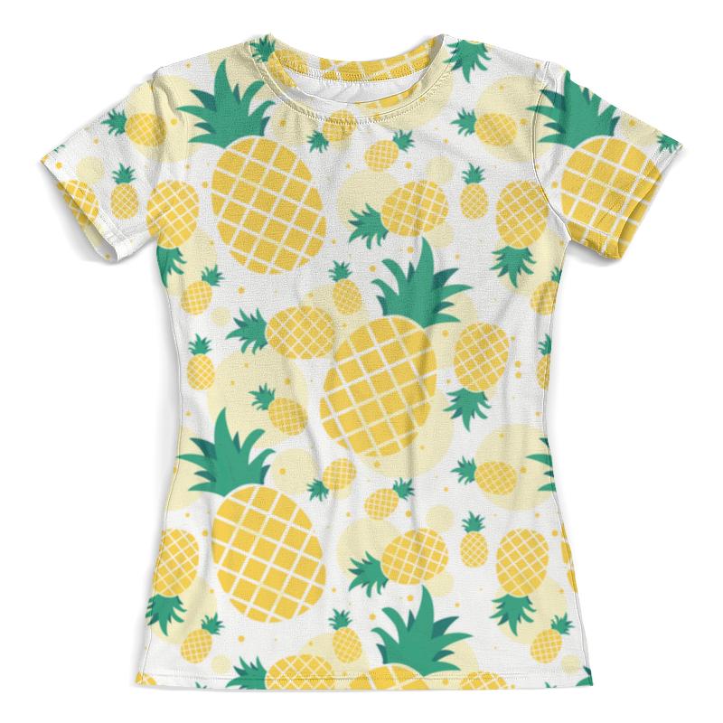 Футболка с полной запечаткой (женская) Printio Ananas design футболка с полной запечаткой мужская printio ananas design