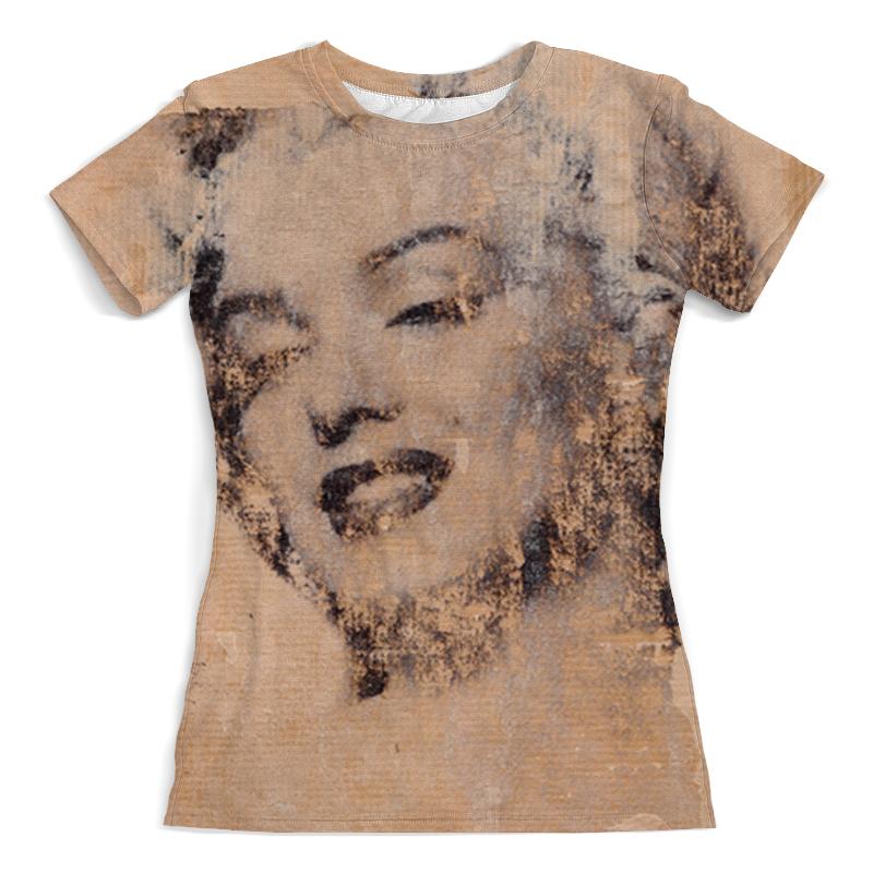 Футболка с полной запечаткой (женская) Printio Monroe футболка с полной запечаткой женская printio миньон