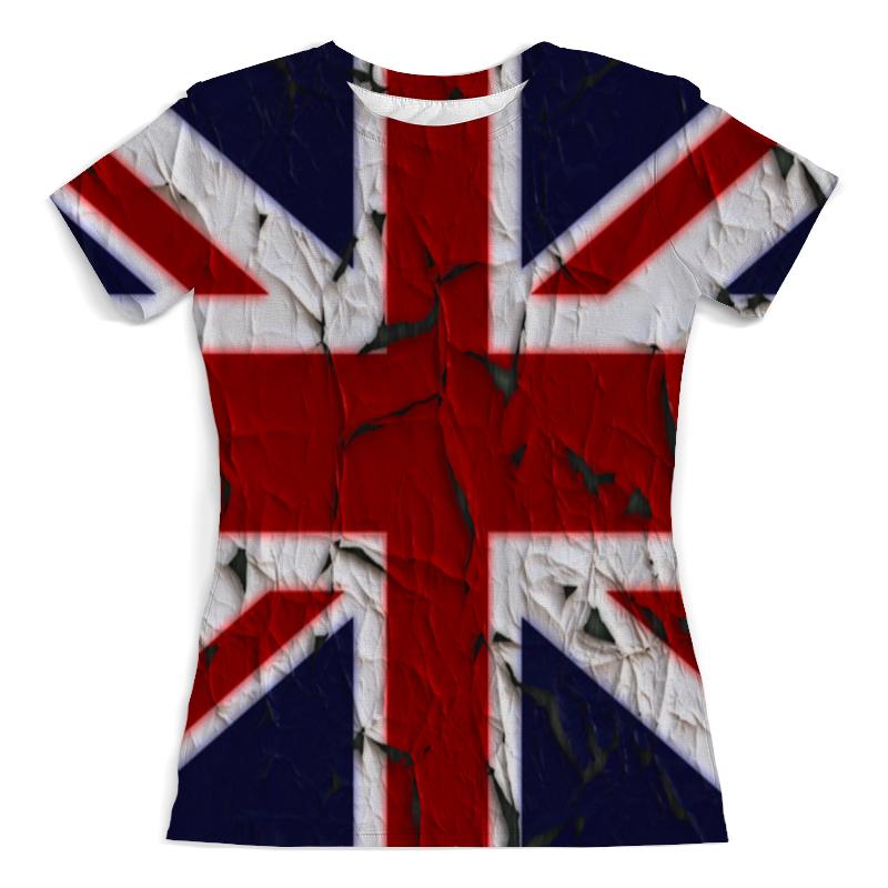 Футболка с полной запечаткой (женская) Printio Англия разгрузочный жилет англия киев