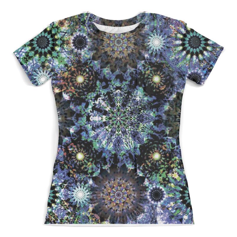 Футболка с полной запечаткой (женская) Printio Космоскоп'27 футболка с полной запечаткой printio космоскоп 25