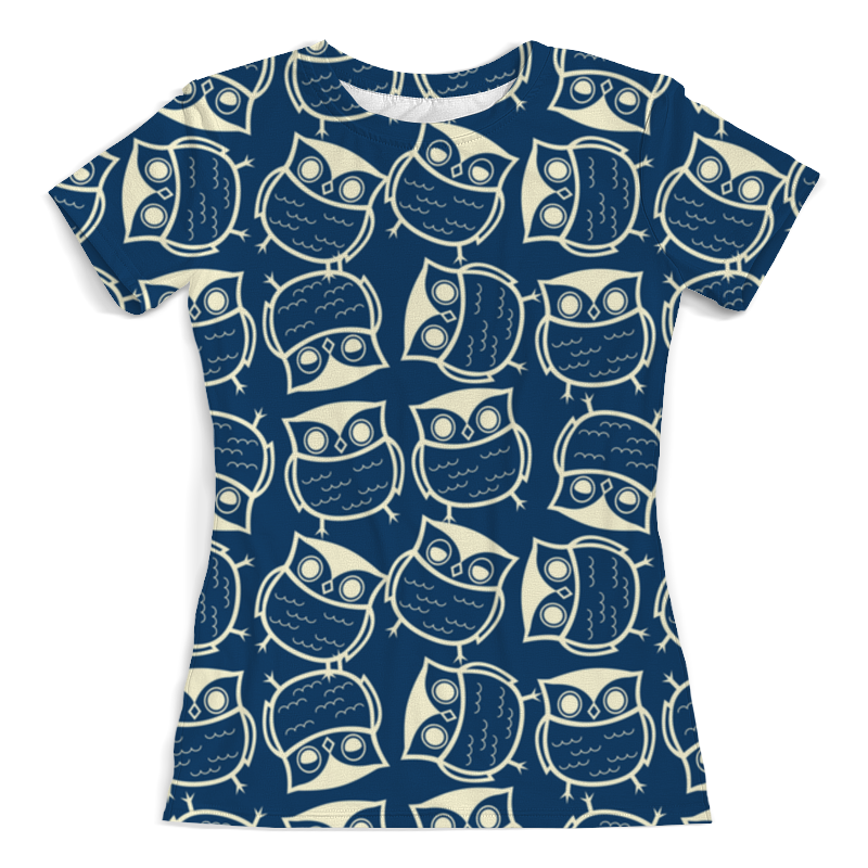 Printio Я люблю сов футболка с полной запечаткой женская printio я люблю иисуса