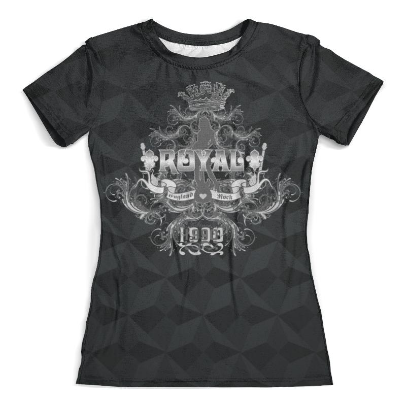 Футболка с полной запечаткой (женская) Printio Royal girl футболка с полной запечаткой женская printio fashion girl in sketch style
